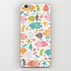 Retro Fish iPhone & iPod Skin
