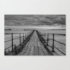 The Pier. Canvas Print