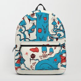 Asian Mix Land Backpack