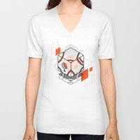technology V-neck T-shirts featuring technology by jocsign