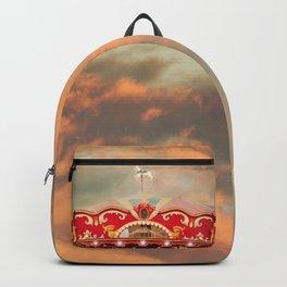 Wonderful Whirled Carousel Backpack