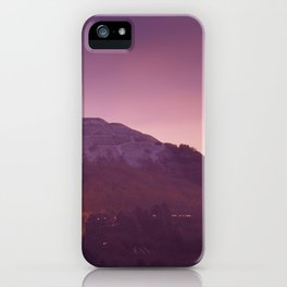 Cold Winters Night iPhone Case