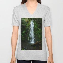 Madison Creek Falls Unisex V-Neck