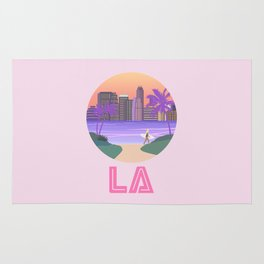 Los Angeles City Art Rug