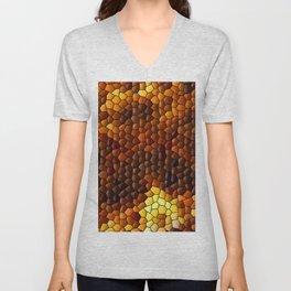 Hot mosaic ... Unisex V-Neck