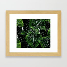 Don't go into the forest Framed Art Print