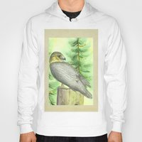 merlin Hoodies featuring Merlin Falcon by Holly Barbo