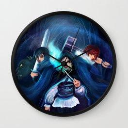 Ennara and the Fallen Druid Wall Clock