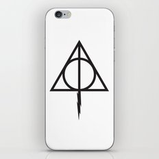 Deathly hollow iPhone & iPod Skin