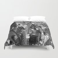 levi Duvet Covers featuring Levi by Liquid Universe Designs