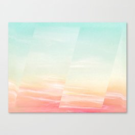 Marble sky dimension Canvas Print