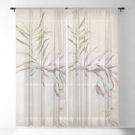 TropiFlora Sheer Curtain