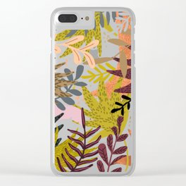 Earthy Forest || Clear iPhone Case