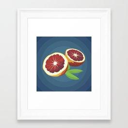 Blood Oranges Framed Art Print
