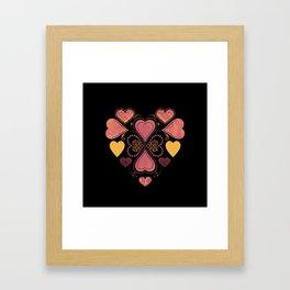 Love & Love Framed Art Print