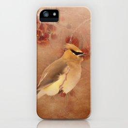Waxwing Buffet iPhone Case