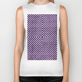 The System - Purple Biker Tank