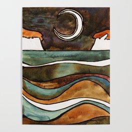 The Moon II Poster