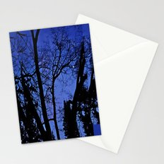 Cemetery trees Stationery Cards