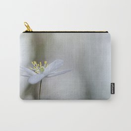 Adorable Wood Anemone... Carry-All Pouch