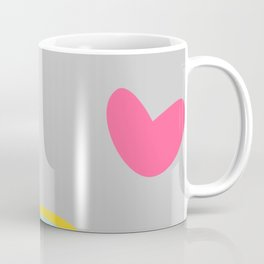 unicorn and rainbow gray Coffee Mug