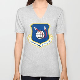 Space Force - Space Wing Unisex V-Neck