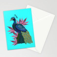 Cannabis Peacock Stationery Cards