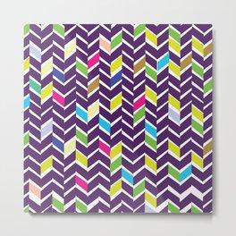 abstract parallelograms  Metal Print