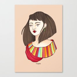 Eun-Mi Canvas Print