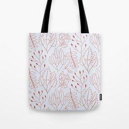 Plant leaf pattern Tote Bag