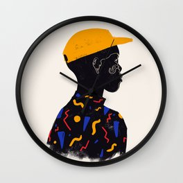 Yellow one Wall Clock