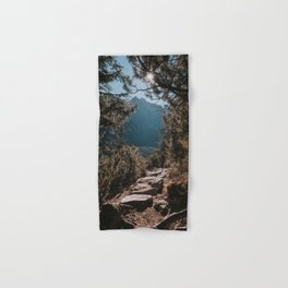On the trail - Landscape and Nature Photography Hand & Bath Towel