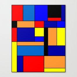 Mondrian #2 Canvas Print
