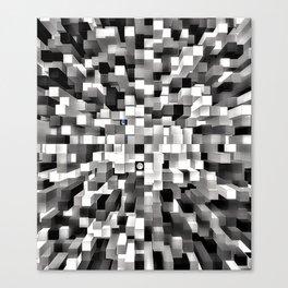 Blocked Space Canvas Print