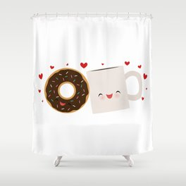 It's Love Shower Curtain