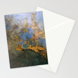 Colorful Abstract Clouds No.2 (V) Stationery Cards