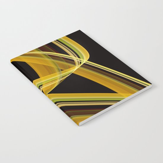 The dancing scarf Notebook