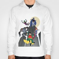 teen titans Hoodies featuring Teen Titans by Fuacka