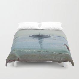 Morning at Sea Duvet Cover