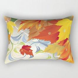 Autumn Leaves 5 Rectangular Pillow