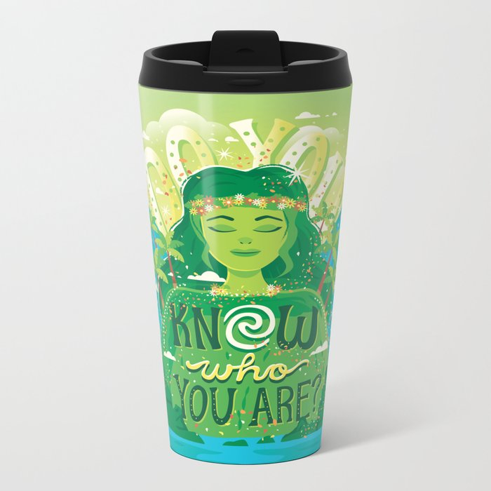 Know who you are Metal Travel Mug