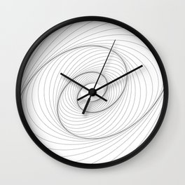 """""""Abstract Collection"""" - Abstract Dotted Lines Art Wall Clock"""