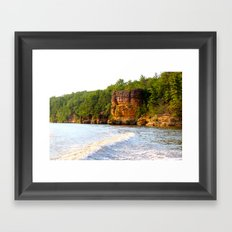 Wisconsin Dells Framed Art Print