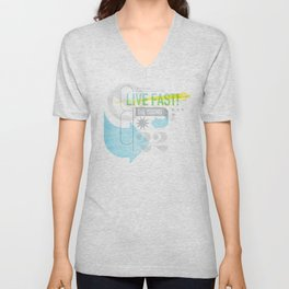 Live Fast / Die Young Unisex V-Neck