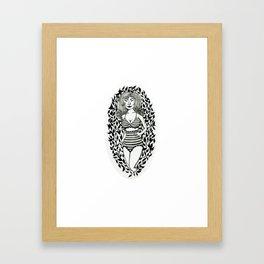 Madge Framed Art Print
