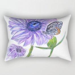 Erika Butterfly Three Rectangular Pillow