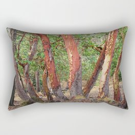 LOST IN MADRONA TREE WOODLAND Rectangular Pillow