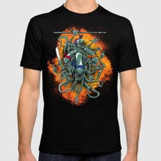 Bay's Alien turtles! Black LARGE Mens Fitted Tee