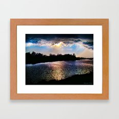 Awakening Sun Framed Art Print