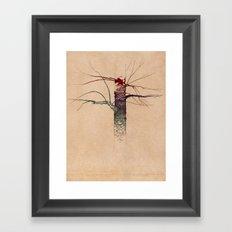 Sweet Birch (color variation) Framed Art Print